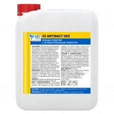 Моющее средство с антибактериальным эффектом DEC PROF 43 ANTIBACT DEZ, 5 л.