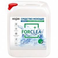 Дезинфицирующее и моющее средство против вирусов и бактерий FORCLEA CIP CL, 5 кг.