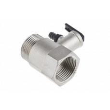 """Клапан предохранительный 1"""", 6,5 бар, с ручкой, ER 300 V (combi)"""