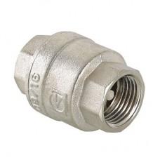 """Обратный клапан никелированный, 1/2"""" - VT.161.N.04"""